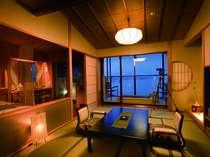 【雲の3】露天付き客室はIN15時・OUT11時。大切なプライベートタイムをよりじっくり過ごして。