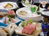 島根を訪れたらやっぱり食べたい「しまね和牛」は陶板焼きでどうぞ。