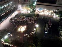 博多駅ロータリーが見えるお部屋もございます!