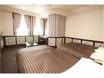 28平米ランクアップツインルームです。ちょっぴり贅沢に、広々としたツインルームです♪
