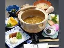 朝食 茶粥 (例)