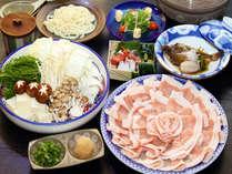 【平日限定】≪豚肉200gも!≫お気軽に豚しゃぶを楽しむ♪プチ会席&豚しゃぶプラン[1泊2食付]