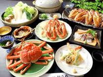 フルコースに人気の「カニ天ぷら」をプラス♪ カニ天ぷら付特選ズワイガニフルコース!