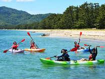 【天橋立deアクティビティ】海から楽しむ日本三景♪雄大な自然をシーカヤック体験(1泊2食付)