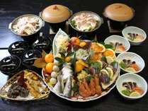 お手軽。皿鉢料理南国土佐高知の郷土料理・鰹のたたき・旬の海幸満載の黒潮踊る『皿鉢料理』