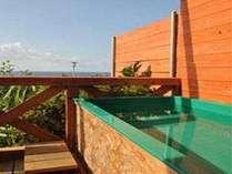 太平洋眺望のメゾネットタイプあしずり温泉露天風呂