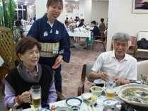 【50歳以上限定】鰹のたたき付・皿鉢料理★露付客室★特典付