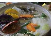 土佐の恵み・旬の厳選魚貝満載の黒潮鍋