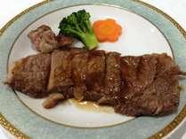 ★海鮮だけじゃなく肉もガッツリ200g!!【ステーキ会席】★くつろぎの太平洋海側眺望