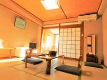 【本館】くつろぎの8~10畳 海側和室 部屋例。