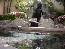 男性庭園露天風呂