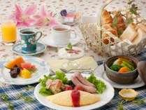 洋食(朝食)の一例
