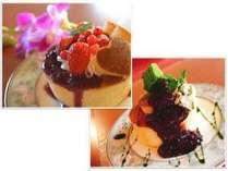 ★50周年記念プランII:パンケーキ+コーヒーまたは紅茶セット付プラン。