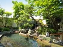 鬼怒の砦 露天風呂