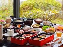 【朝食】地元食材を活かしたこだわりの和食膳