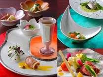 料理や器にこだわり抜いた特別なお食事はちょっぴり贅沢気分に!