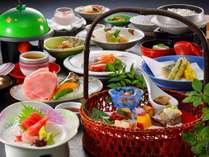 ■夕食「籠盛会席」