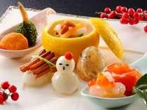 【料亭】山科プラン「季節の前菜一例」冬