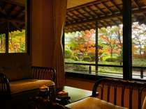 ■別館客室「別館静龍和室」(12.5畳)1階特別室広縁からのイメージ