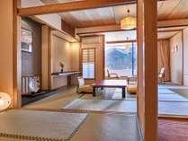 ■本館客室「一般客室和室」(10畳+6畳)次の間部分からのイメージ