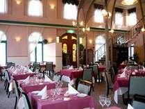 西洋のクラシカルな雰囲気でお食事をお楽しみ頂けます。