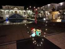 スペイン宮殿をイメージした空間でリゾートを満喫して頂けます。(冬仕様)