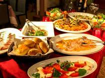 【ビュッフェ】季節の食材を使ったお料理
