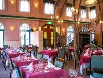 【レストラン】西洋のクラシカルな雰囲気でお食事をお楽しみ下さい