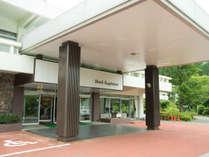 *【外観】当館は都心から車で約90分の仙石原高原にございます