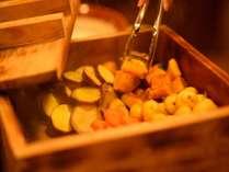 ホクホクの蒸し野菜