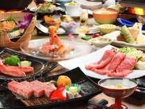 彩冬の極みつき「美食膳」のイメージ 前沢牛などのメイン料理も豪華!