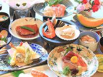 ◇華の宴懐石 新鮮な魚介と里の恵みを盛り込んだ川良自慢の宴会料理【金目付きのため非表示】