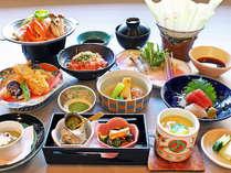 グループプランのお料理は季節ごとに変わりますが全12品でボリューム満点です。
