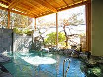 2017年1月にリニューアルした露天風呂・大浴場