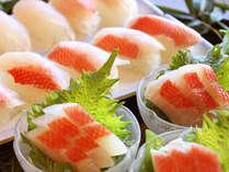 ★2月から夕食バイキングに「金目鯛のお刺身とお寿司」が新登場!