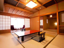 ●川良はご家族やグループ旅行に便利な広い二間のお部屋が沢山あります