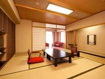 ●グランシャトー館和室はゆったり設計
