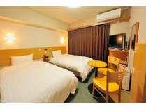 ◆禁煙ツイン 18平米 ベッド幅110cm×2台