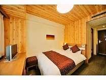 ◆禁煙ダブル 16平米 ベッド幅140cm