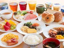 *朝食ビュッフェバイキング(一例)