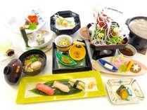 【2食付き】秋田の味覚を贅沢に満喫♪華やぎ膳に舌鼓