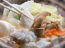 秋の味覚!名残り鱧と松茸鍋プラン