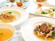 *【贅沢フレンチコースディナー】(お食事一例)/信州産食材の本格フレンチコース,長野県,シティガーデンホテル信濃路
