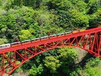 【4月開通】黒部峡谷トロッコ電車 少し羽を伸ばして6室のみのお宿へ 富山名産ます寿司をお土産にどうぞ