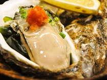 【お盆まで】夏の富山を味わう『天然岩牡蠣』旬彩会席■濃厚クリーミーな甘みをお口の中いっぱいにどうぞ♪