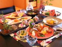 富山の宝が散りばめられた四季を伝える会席料理