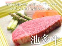 ◆富山のご当地ブランド牛『池多牛」♪ヒレステーキ会席◆口の中でとろける食感!