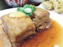 *[お料理一例]主人自慢の九州産の豚の角煮は柔らかくて旨味たっぷり♪