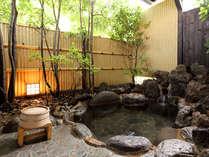 ■客室露天風呂■プライベート空間を満喫♪お部屋によってお風呂は異なります。