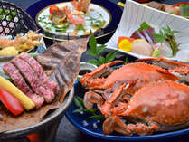 【人気No.2】竹崎かに/かに雑炊/佐賀産牛ステーキ[満喫プラン]●夕食部屋食